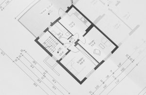 A picture of the Floor Plan of a building