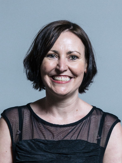 Photograph of (Labour) Shadow Minister for Disabled people, Vicky Foxcroft MP.