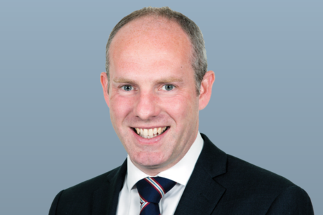 Photograph of Justin Tomlinson MP (Minister for Disabled People, Health and Work) taken from the gov.uk website.